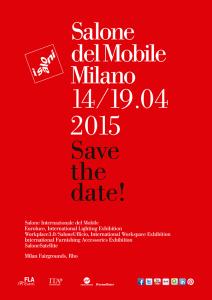 Cartel del Salone del Mobile 2015